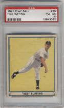 1941 Play Ball #20 Red Ruffing PSA 4 New York Yankees