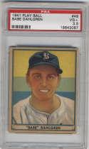 1941 Play Ball #49 Babe Dahlgren PSA 3.5 Boston Braves