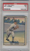 1941 Play Ball #59 Billy Jurges PSA 3 New York Giants