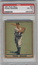 1941 Play Ball #58 Frank Demaree PSA 4 Boston Braves