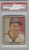 1941 Play Ball #67 Walt Judnich PSA 4 RC Rookie St. Louis Browns