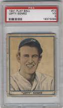 1941 Play Ball #72 Lefty Gomez PSA 3 New York Yankees