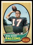 1970 Topps #259 Bob Berry EX/NM RC Rookie Atlanta Falcons