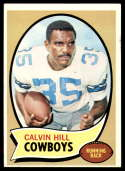 1970 Topps #260a Calvin Hill VG Very Good RC Rookie Dallas Cowboys