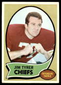 1970 Topps #263 Jim Tyrer EX Excellent Kansas City Chiefs