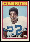 1972 Topps #105 Bob Hayes VG/EX Very Good/Excellent Dallas Cowboys