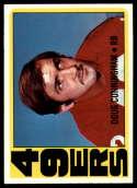 1972 Topps #311 Doug Cunningham NM Near Mint San Francisco 49ers