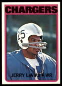 1972 Topps #317 Jerry LeVias NM-MT San Diego Chargers