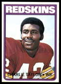 1972 Topps #334 Charley Taylor NM Near Mint Washington Redskins