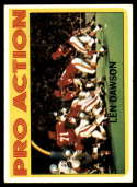 1972 Topps #340 Len Dawson IA EX Excellent Kansas City Chiefs