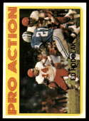 1972 Topps #349 Ed Podolak IA VG/EX Very Good/Excellent Kansas City Chiefs