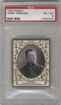 1909 Ramly T204 # Jerry Freeman PSA 6 EX-MT