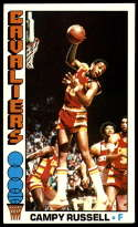 1976-77 Topps #23 Campy Russell EX/NM Cleveland Cavaliers