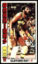 1976-77 Topps #109 Clifford Ray EX Excellent Golden State Warriors