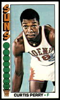 1976-77 Topps #116 Curtis Perry EX Excellent Phoenix Suns