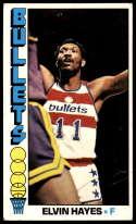 1976-77 Topps #120 Elvin Hayes VG Very Good Washington Bullets