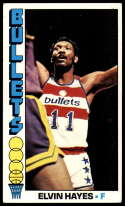 1976-77 Topps #120 Elvin Hayes EX/NM Washington Bullets