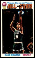 1976-77 Topps #131 Dave Cowens AS VG/EX Very Good/Excellent Boston Celtics
