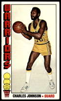 1976-77 Topps #137 Charles Johnson EX Excellent Golden State Warriors