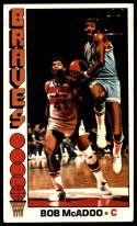 1976-77 Topps #140 Bob McAdoo VG/EX Very Good/Excellent Buffalo Braves