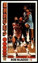 1976-77 Topps #140 Bob McAdoo EX Excellent Buffalo Braves