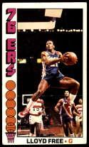 1976-77 Topps #143 World B. Free VG Very Good RC Rookie Philadelphia 76ers