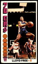 1976-77 Topps #143 World B. Free VG/EX Very Good/Excellent RC Rookie Philadelphia 76ers