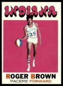 1971-72 Topps #225 Roger Brown EX/NM RC Rookie Indiana Pacers