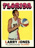 1971-72 Topps #230 Larry Jones EX/NM Florida Floridians