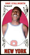 1969-70 Topps #74 Dave Stallworth EX Excellent RC Rookie New York Knicks