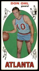 1969-70 Topps #77 Don Ohl EX Excellent Atlanta Hawks