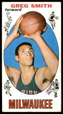 1969-70 Topps #81 Greg Smith EX Excellent Milwaukee Bucks