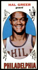 1969-70 Topps #84 Hal Greer EX Excellent Philadelphia 76ers