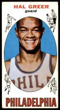 1969-70 Topps #84 Hal Greer VG/EX Very Good/Excellent Philadelphia 76ers