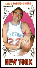 1969-70 Topps #85 Dave DeBusschere EX Excellent RC Rookie New York Knicks