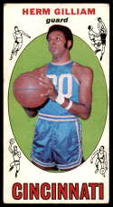 1969-70 Topps #87 Herm Gilliam VG Very Good RC Rookie Cincinnati Royals