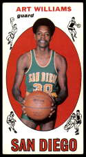 1969-70 Topps #96 Art Williams EX Excellent San Diego Rockets