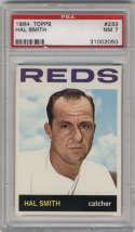 1964 Topps #233 Hal Smith PSA 7 Cincinnati Reds