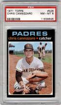 1971 Topps #426 Chris Cannizzaro PSA 8 San Diego Padres