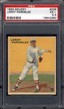 1933 Goudey #239 Roy Parmelee PSA 5.5 RC Rookie New York Giants