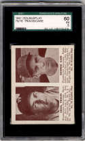 1941 Double Play #75-76 Cecil Travis/George Case SGC 60 5 Washington Senators