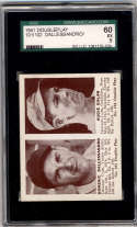 1941 Double Play #101-102 Dom Dallesandro/Augie Galan SGC 60 5 RC Rookie Chicago Cubs