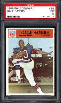 1966 Philadelphia #38 Gale Sayers PSA 5 RC Rookie Chicago Bears