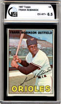 1967 Topps #100 Frank Robinson DP GAI graded 6.5 Baltimore Orioles