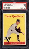 1958 Topps #453 Tom Qualters PSA 7 Chicago White Sox