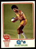 1973-74 Topps #262 Ollie Taylor EX/NM San Diego Conquistadors