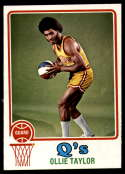 1973-74 Topps #262 Ollie Taylor NM Near Mint San Diego Conquistadors