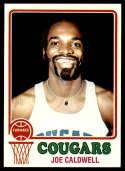 1973-74 Topps #255 Joe Caldwell NM Near Mint Carolina Cougars