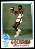 1973-74 Topps #257 Bernie Williams EX/NM Virginia Squires