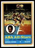 1973-74 Topps #260 James Jones EX/NM Utah Stars